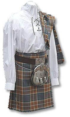 Manninkilt: Online Shop ,Isle of Man, Kilt manufacture, sale and hire - Manx Hunting Tartan