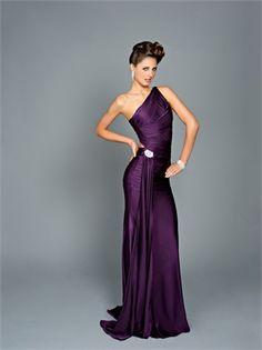 dark purple bridesmaid dresses