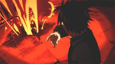 Look it's my favorite male character burning my favorite homunculus to death. Yay. Envy and Roy Mustang