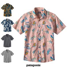 Patagonia パタゴニア 52691 メンズ・ゴー・トゥ・シャツ <br>Men's Go To Shirt