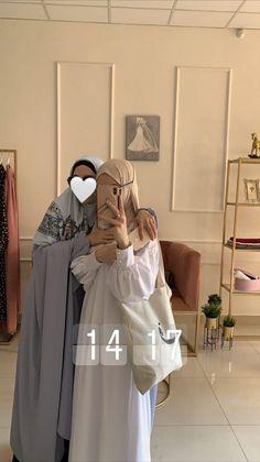 Modest Fashion Hijab, Street Hijab Fashion, Hijab Chic, Abaya Fashion, Muslim Fashion, Mode Abaya, Mode Hijab, Hijab Style Tutorial, Islamic Girl
