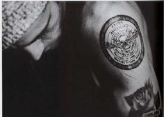 Richey Edwards / Richey Manic / Manic Street Preachers / tattoo / Dante / Inferno