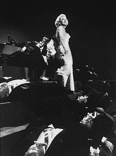 "Marilyn Monroe singing ""Diamonds are a girl's best friend""  from Gentlemen Prefer Blondes - 1953"
