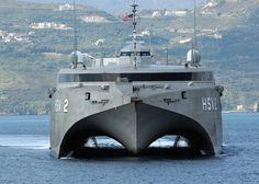 HSV-2 USNS Swift built by Austal... =====>Information=====> https://www.pinterest.com/FireMission/ships/
