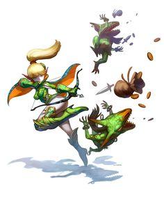 Acrobat - Game: Dragon Nest