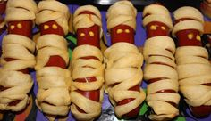 Mummy Dogs, Halloween food