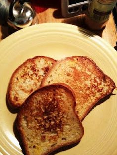 Gluten-free french toast!