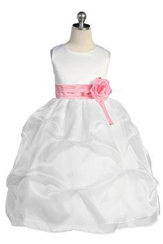Organza Flower Girl Dresses, Satin Flower Girl Dresses, Taffeta Flower Girl Dresses, Tulle Flower Girl Dresses - Girls Dress Line