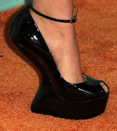 wedges shoes featured fashion these kind of shoes are so bad for you back, no support plus they are ugly