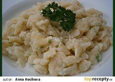 Jemné,přílohové noky-protlačené přes síto na noky Risotto, Potato Salad, Cauliflower, Potatoes, Vegetables, Ethnic Recipes, Cauliflowers, Potato, Vegetable Recipes