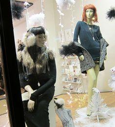Recent Project: Shopgirls Holiday Window | recreative works blog