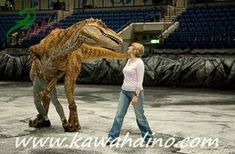 New!hollywood quality animatronic adult dinosaur costume