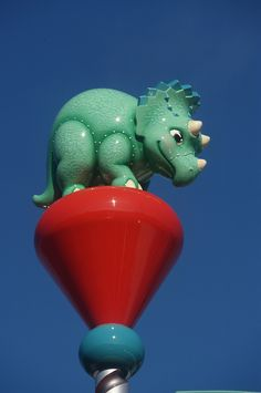 Caption This: It's Dino Time at Disney's Animal Kingdom!