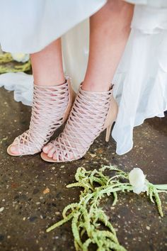 Blooms By the Box was included in this beautiful styled shoot by Mandy Forlenza Sticos at The Paper Factory Hotel. Boho Wedding Shoes, Beige Wedding, Boho Beach Wedding, Wedding Heels, Wedding Accessories, Shoe Image, Modern Wedding Inspiration, Lace Heels, Wedding Crashers