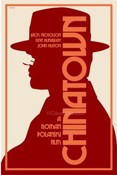 Chinatown (1974) - Directed by Roman Polanski. The role of P.I., J.J. Gittes is played by Jack Nicholson in this unequaled neo-noir.