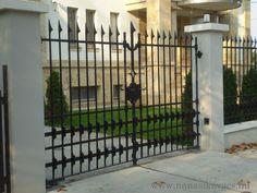 Kovácsolt kapuk, kerítések - wrought iron fence