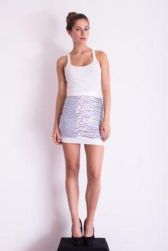 Pulsar Viola Skirt. Sooo Joy Division-ish