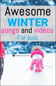 A list of songs and videos that you will definitely want to add to your playlist this winter!