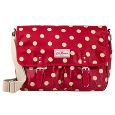Button Spot Saddle Bag | Cross Body Bags | CathKidston