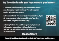 Top 3 Tips to make your Yoga Journey a Success - A small piece of great…