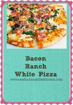 Bacon Ranch White Pizza