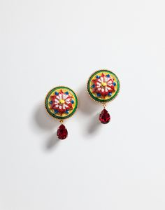 Dolce&Gabbana Earrings with Decorative Elements