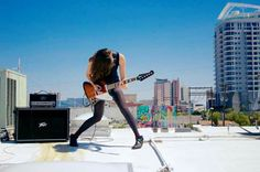 Gina Gleason with Peavey