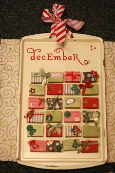 Advent calendar craft- this is a must-do!