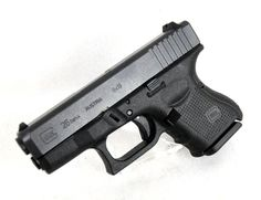 "Glock 26 Gen 4 9mm. Known as the ""BABY GLOCK,"" the Glock 26 is highly sought after in the CCW market. Now featuring Gen 4 upgrades such as a Modular Back Strap design; a scientifically designed, real-world-tested, Gen 4 rough textured frame; and an reversible enlarged magazine catch, allowing for ambidextrous control. 10+1 capacity of 9mm. 3.42"" barrel. 21.7 oz. [New in Box] $549.99"