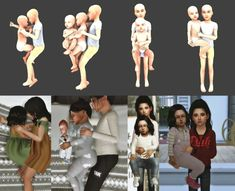 The sim manual sibling pose pack sims 4 cc симс симс Toddler Poses, Baby Poses, Sibling Poses, Kid Poses, Siblings, The Sims, Sims 4 Mm, Sims 4 Game Mods, Sims Mods