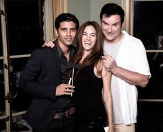 Photographer Yaniv Raphael Bar with Tal Berkovich and Writer Director Shane Black Shane Black, Red Carpet Event, Famous People, Writer, Bar, Couple Photos, Couples, Couple Shots, Writers