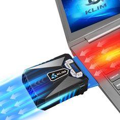 KLIM Laptop Kühler gaming - Hochleistungslüfter - Cooling pad - Notebook Kühler Cooler Stände Kühlpad Kühlmatte laptop cooler  EUR 24,90