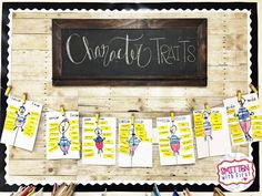 Interactive Character Traits - Smitten with First Teaching Character Traits, First Grade Reading, David, Activities, India, Reading For Grade 1