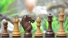 Las piezas de brida caballero serie ajedrez madera en Shesham