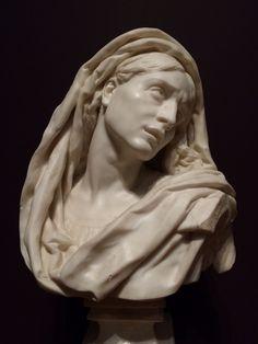 Jean-Baptiste Carpeaux (1827 – 1875) Mater Dolorosa bust