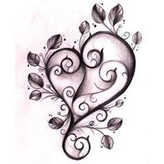 tatoo/ I got a tatoo much like this when I turned small on my left ankel. I love to shock people no one ever would think of me with a tatoo! Virgo Tattoo Designs, Free Tattoo Designs, Heart Tattoo Designs, Heart Designs, 1 Tattoo, Body Art Tattoos, New Tattoos, Tribal Tattoos, Wrist Tattoo