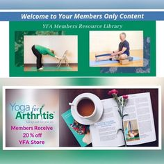 Are you a Yoga For Arthritis Member? . If so thank you! We know our members have made an investment in our work and continue to invest in our members. We've revamped the members-only portion of our website to make it more focused easier to navigate and (if we do say so ourselves) absolutely beautiful.  Log in to check it out! . Not a member yet? Now's the perfect time to change that! Not only to you get access to a full library of resources and practices that you can access anytime you'll… Yoga For Arthritis, Live For Yourself, Investing, Joy, Change, Website, Check, Beautiful, Being Happy