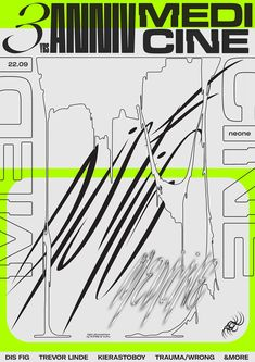 Creative Posters, Medicine, and 18 image ideas & inspiration on Designspiration Typo Design, Graphic Design Posters, Graphic Design Typography, Graphic Design Inspiration, Book Design, Layout Design, Typo Poster, Poster Layout, Vintage Design