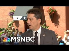 """Last night at the RNC, Scott Baio said """"Let's make America America again,"""" a statement that calls for some clarification. Baio joins MSNBC's Tamron Hall to e. Tamron Hall, Republican Gop, Scott Baio, Gender Politics, Truth To Power, Swing State, The Daily Beast, Human Rights, Interview"""