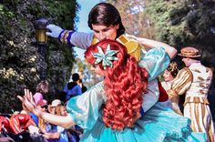 Eric and Ariel from The Little Mermaid