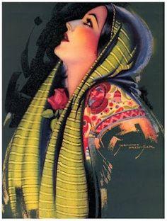 ✢ STYLE ✢ Viva Mexico   Vintage Mexican Art