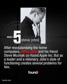 Thought Provoking Movies, Steve Wozniak, Tv Series To Watch, Steve Jobs, Entrepreneur, Thoughts, People, Top, Inspiration