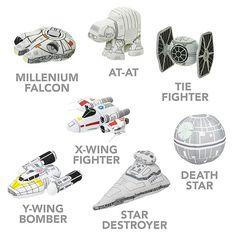 SD Star Wars – Adorable Star Wars plush vehicles