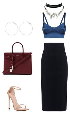 """""""Untitled #70"""" by durples2265 on Polyvore featuring 10 Crosby Derek Lam, Stuart Weitzman, Yves Saint Laurent and WithChic"""