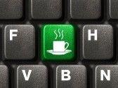 Computer keyboard with coffee key Coffee Talk, I Love Coffee, Coffee Break, My Coffee, Coffee Shop, Coffee Cups, Coffee Lovers, Coffee Drinks, Coffee Humor
