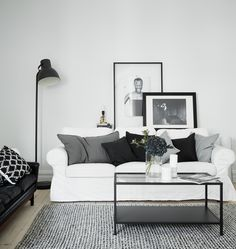 Home with grey accents - via cocolapinedesign.com