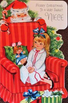 Esperando la noche buena. Christmas Card Images, Vintage Christmas Cards, Vintage Holiday, Christmas Greeting Cards, Christmas Greetings, Christmas History, Old Christmas, Retro Christmas, Christmas Ideas