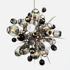 Wish-list idea of art sculpture for bar or lobby.  pretty, not a top priority. (Lindsey Adelman-designed lighting.  )