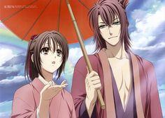 Yukimura Chizuru and Okita Soji