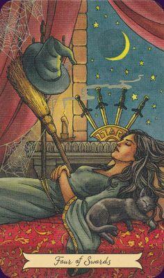 Everyday Witch Tarot by Elisabeth Alba & Deborah Blake.